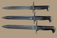 "M1 Bayonet M1 Garand EN S German Made Greek Greece 10"" Blade M1903 ww2 korea"