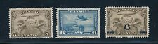 Canada AIRMAIL ISSUES (1928-38) #C1 & C3 (MH) & C6 (MNH); NO FAULTS; CV $32