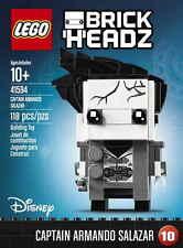 LEGO 41594 BrickHeadz Disney Captain Armando Salazar Pirates of Caribbean NEW