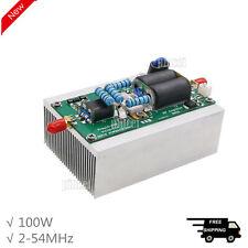 100w Shortwave Amplifier Rf Power Amplifier Hf Linear Amp 2 54mhz F Ham Radio