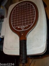 Westchester Seamco 5103 Paddleball Paddle Ball Racquetball Racquet Wood Racket