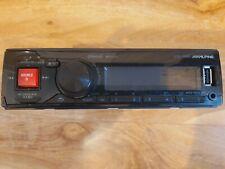 Alpine UTE 72BT Single Din CD MP3 Bluetooth USB AUX iPhone Car Radio Player