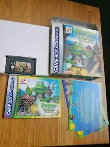 Frogger advance the great quest (Nintendo Game Boy Advance, 2001) gba BOXED