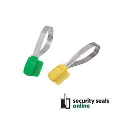 Green Encapsulated Metal Strip Security Seals