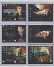 The Twilight Saga Eclipse Series 2 Riley G-1 G-2 G-3 Set of 3 Trading Cards