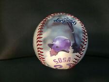 2002 Chicago Cubs Sammy Sosa Photo Baseball