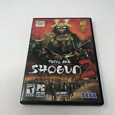 Total War: Shogun 2 (PC, 2011) 2 Disc Sega PC Gamer Editor's Choice