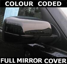 Gloss BLACK FULL door wing MIRROR COVERS for Land Rover Freelander 2 LR2 new cap
