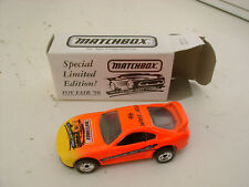 MATCHBOX SUPERFAST TOY FAIR '96 TOYOTA SUPRA TURBO NEW IN BOX