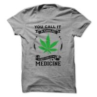 Medical Drug Legalize Marijuana Weed 420 Men's Funny T-shirt  High Times Chronic