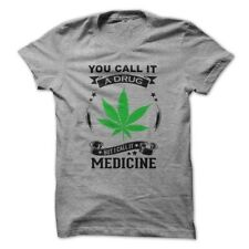 Medical Drug Legalize Marijuana Weed 420 Men's Funny T-shirt  High Times Chronic