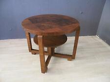 Art Deco Beistelltisch Rauchertisch Holz Tisch Ablage Design Entwurf alt antik