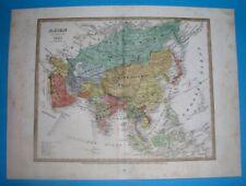 1831 RARE ORIGINAL MAP ASIA ARABIA OMAN KOREA CHINA THAILAND INDIA PHILIPPINES