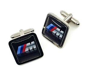 BMW M Series Cufflinks, Square