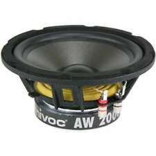 Mivoc AW 2000 4 Ohm , 209 mm Basslautsprecher , 120 Watt RMS / 300 Watt max