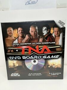 TNA Total Nonstop Action Wrestling DVD Board Game (2008) NEW SEALED