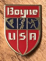 Boyne USA Ski Skiing Resort Travel Souvenir Lapel Hat Pin Pinback ~ Michigan ~MI