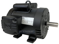 5 HP 184T FRAME ELECTRIC MOTOR REPLACES 5HP BALDOR L1430T 1750 RPM 230V 21.5 AMP
