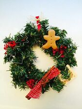 CHRISTMAS WREATH COOKIE CUTTER WITH GINGERBREAD MAN