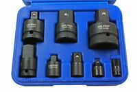 US Pro by BERGEN 8 Piece Impact Socket Adapter Reducer Tool Set 1488