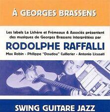 RODOLPHE RAFFALLI - A GEORGES BRASSENS NEW CD