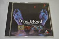 USED PS1 PS PlayStation 1 over Brad 01218 JAPAN IMPORT