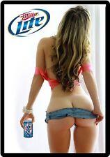 Miller Lite Beer Model In Red Top Refrigerator Magnet