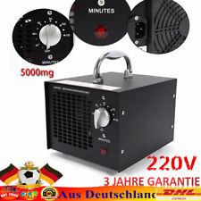 Commerciale 5000mg/h épurateur d'air Générateur d'ozone d'ioniseur  Machine 220V