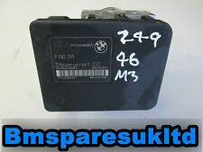 BMW E46 M3 DSC ABS Control Unit 1999-2006 2282249 2282250 Genuine Warranty