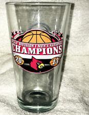 2013 FINAL FOUR Louisville CARDINALS NCAA NATIONAL CHAMPS Pint GLASS #1