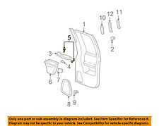 GM OEM Interior-Rear Door-Armrest Screw Right 11561668