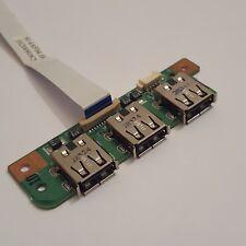 Medion Akoya P6612 MD97110 USB Port Boerd mit Kabel Cable 55.4AF03.001G