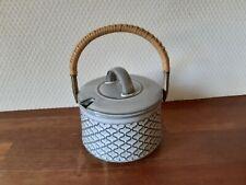 Marmelade Jar w Lid CORDIAL Grey Quistgaard Bing & Grondahl Kronjyden Denmark