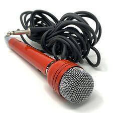 Olson MK-062 Omni Directional Dynamic 50K Microphone Made In Japan Red