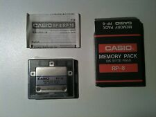 ONLY A FEW LEFT Casio RP-8 Vintage & Rare - Ram 8k Card - New in Box