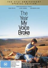 THE YEAR MY VOICE BROKE 21st Anniversary Ed. : NEW DVD