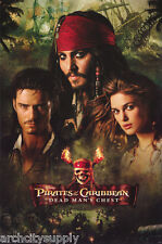 POSTER: MOVIE REPRO-PIRATES OF THE CARRIBEAN - DEAD MAN'S CHEST - #8732 RAP108 B