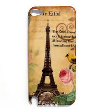 Bird Floral Eiffel Tower Hard Case Cover for iPod Touch 5 Gen 5th Generation