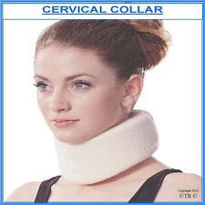 Collar Cervical, unisex de espuma suave para mayor comodidad y soporte, Grande. (P&P Gratis)