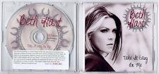 BETH HART Take It Easy On Me UK promo test press CD