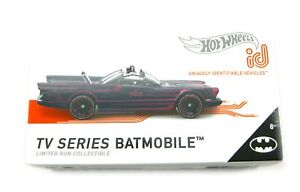 Hot Wheels Batmobile ID schwarz rot 1:64