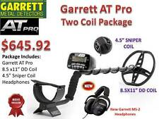 Garrett At Pro Metal Detector - Two Coil Package- Free Shipping