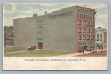 Bluefield Furniture Co—West Virginia Antique Warehouse Architecture Postcard~08
