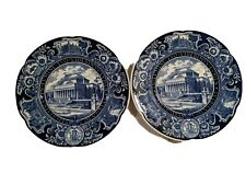 New ListingWedgwood Columbia University Blue Dinner Plate The Library