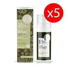 Pack 5 Crème de nuit peau sèche nutrition/réparation 50 ml Natura Siberica KROUS