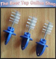 More details for 3 x hygiene plug draft beer faucet tap kegerator bar spout brush sanitation