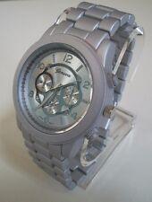 Designer inspired style Geneva bracelet Silver finish  fashion watch