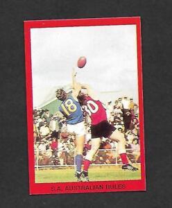 1973 TIP TOP SUNBLEST SPORTS ACTION CARD - BRENTON BILLS  WEST TORRENS