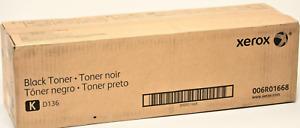 Xerox Laser Toner Cartridge - Black (006R01668) ; For D136