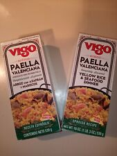 Vigo Paella Yellow Rice And Seafood Dinner